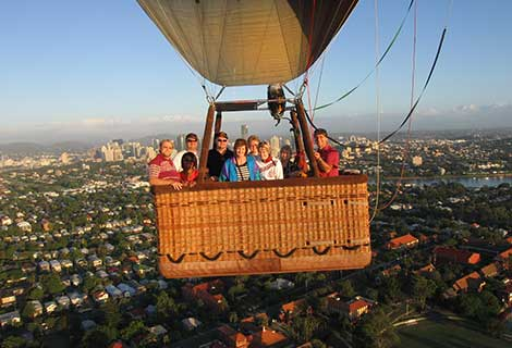 Hot Air Ballooning Brisbane