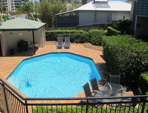 Swimming Pool & BBQ Area
